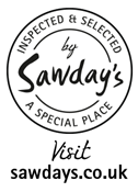 Sawdays Accreditation Badge Transparent
